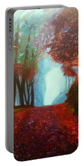The Red Cathedral - A Journey Of Peace And Serenity Portable Battery Charger