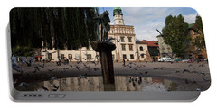The Renaissance Town Hall And Central Portable Battery Charger by Panoramic Images