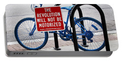 The Revolution Will Not Be Motorized Portable Battery Charger