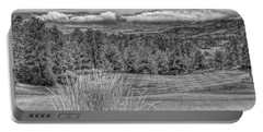 Portable Battery Charger featuring the photograph The Ridge 18th by Ron White