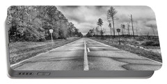 Portable Battery Charger featuring the photograph The Road Less Traveled by Howard Salmon