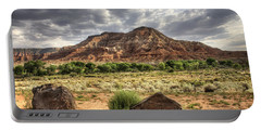 Portable Battery Charger featuring the photograph The Road To Zion by Tammy Wetzel