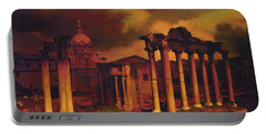 The Roman Forum Portable Battery Charger by Blue Sky