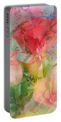 The Romance Of Roses Portable Battery Charger