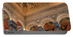 The Roof Above Jefferson's Books  Portable Battery Charger