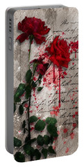 The Rose Of Sharon Portable Battery Charger by Gary Bodnar