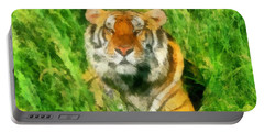 The Royal Bengal Tiger Portable Battery Charger