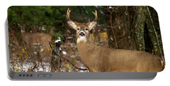 The Rutting Whitetail Buck Portable Battery Charger