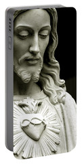 The Sacred Heart Of Jesus, 19th Century Portable Battery Charger