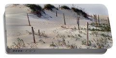 Portable Battery Charger featuring the photograph The Sands Of Obx by Greg Reed