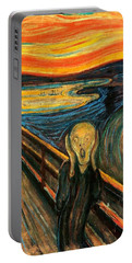 The Scream Edvard Munch 1893                    Portable Battery Charger