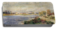 The Seine In Argenteuil Portable Battery Charger