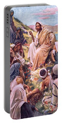 The Sermon On The Mount Portable Battery Charger