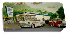 The Shake Shoppe Portsmouth Ohio 1960 Portable Battery Charger