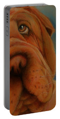 The Shar-pei  Portable Battery Charger by Jean Cormier