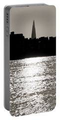 The Shard From Canary Wharf Portable Battery Charger by Jasna Buncic