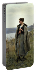 The Shepherdess Of Rolleboise Portable Battery Charger
