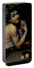 The Sick Bacchus, 1591  Portable Battery Charger