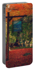 Portable Battery Charger featuring the photograph The Sign Of Fall Colors by Jeff Folger