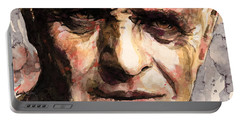 The Silence Of The Lambs Portable Battery Charger by Laur Iduc