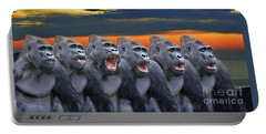 The Singing Gorillas Portable Battery Charger
