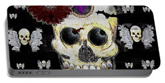 The Skull Is In Love With Cupidos Portable Battery Charger
