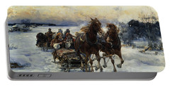 The Sleigh Ride Portable Battery Charger