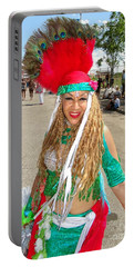 Portable Battery Charger featuring the photograph The Smile by Ed Weidman