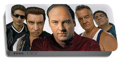 The Sopranos  Artwork 2 Portable Battery Charger
