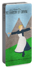 The Sound Of Music Portable Battery Charger by Ayse Deniz