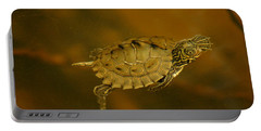 The Southeastern Map Turtle Portable Battery Charger
