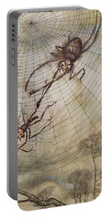 The Spider And The Fly Portable Battery Charger by Arthur Rackham