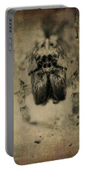 The Spider Series Xiii Portable Battery Charger by Marco Oliveira