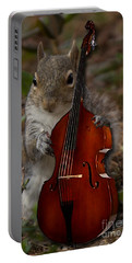 The Squirrel And His Double Bass Portable Battery Charger