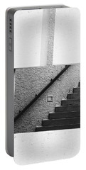 The Stairs In The Square Portable Battery Charger