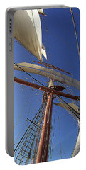 The Star Of India. Mast And Sails Portable Battery Charger