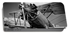 The Stearman Biplane Portable Battery Charger