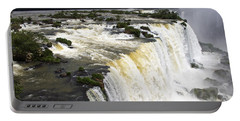 The Stunning Falls Of Iguacu Brazil Side Portable Battery Charger