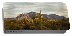 The Superstition Mountains Portable Battery Charger