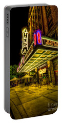 The Tampa Theater Portable Battery Charger by Marvin Spates