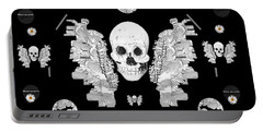 The Temple Of Skulls Portable Battery Charger