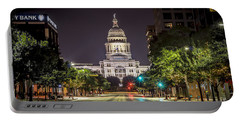 The Texas Capitol Building Portable Battery Charger