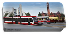 The Toronto Streetcar 100 Years Portable Battery Charger