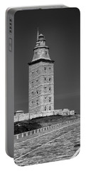 The Tower Of Hercules Lighthouse 2nd Century Portable Battery Charger