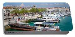 The Town And Port Of La Rochelle Portable Battery Charger