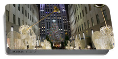 The Tree At Rockefeller Center Portable Battery Charger