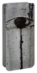 Portable Battery Charger featuring the photograph The Trees Have Eyes by Jani Freimann