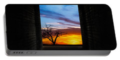 The Tunnel   Sunset1 Portable Battery Charger