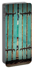 The Turquoise Gate Portable Battery Charger by Holly Blunkall