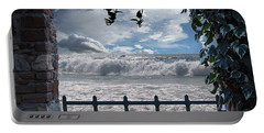 Portable Battery Charger featuring the photograph The View by Athala Carole Bruckner